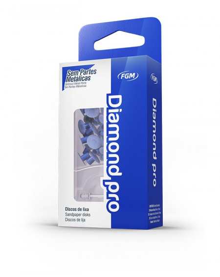 Diamond Pro 8/12 mm M (Medium) - Caja 26 unidades (13 de cada) + mandril