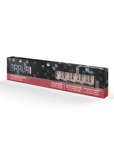 Brava Block A3,5 Low Translucency - Sirona (Kit 5 uds.)