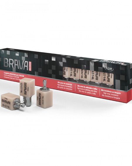 Brava Block B1 Low Translucency - Sirona (Kit 5 uds.)